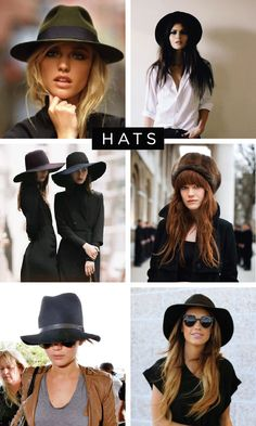 how to wear your hair with a hat
