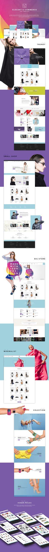 Franco - Elegant eCommerce PSD Template on Behance