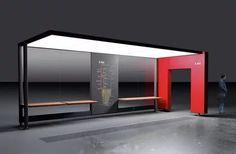 дизайн проект остановки: 19 тыс изображений найдено в Яндекс.Картинках Urban Furniture, Street Furniture, Old Mansions Interior, Bus Stop Design, Wall Design, House Design, Urban Design Concept, Architecture 3d, Bus Shelters