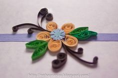 simple Quilling | Quillling Work - Neha: Simple Quilling card