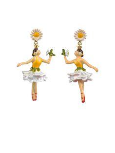 Blossom Ballerinas Earrings - Les Néréides