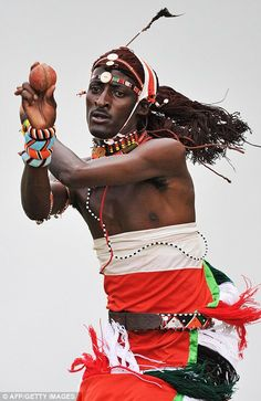 The traditional life of a Maasai warrior in Kenya involves learning how to hunt and herd cattle. One group of Maasai warriors have now learnt a surprising new skill - playing cricket – and they've . Out Of Africa, East Africa, We Are The World, People Around The World, Sierra Leone, Black Is Beautiful, Beautiful People, Beautiful Images, Afrique Art