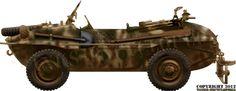 schwimmwagen Normandy 1944