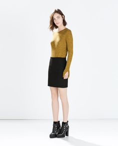 Image 1 of TUBE MINISKIRT from Zara
