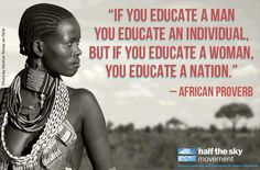 We need to go back to a matriarchal society!  There would be less war and a larger sense of community.
