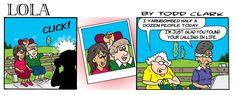 Lola's Alternate Take on Yarnbombing …