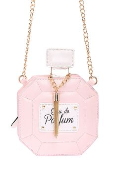 ROMWE Perfume Shaped Mini Pink Bag .........*Special deal for permanent hair removal, check it out at www.depitime.us and use this code for a special deal: depitime20%off