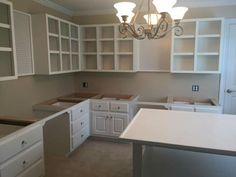 Room Design, Ikea Design, Room Organization, Coffee Decor Kitchen, Craft Room Storage, Sewing Room Design, Sewing Room Inspiration, Craft Shed, Built In Cabinets