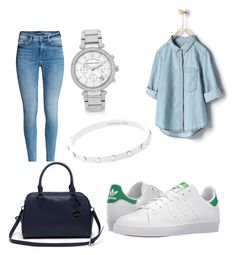 """""""mi look de hoy relax"""" by reyna-violeta-martinez on Polyvore featuring Zara, adidas, Lacoste and Michael Kors"""