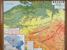Wandkaart van België en Belgisch Congo (in de wereld) detail1