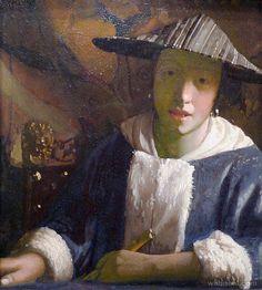 25 Most Popular Johannes Vermeer Paintings - Greatest Dutch Painter | Read full article: http://webneel.com/johannes-vermeer-paintings | more http://webneel.com/paintings | Follow us www.pinterest.com/webneel