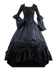 New Arrival Victorian Gothic Dress Gothic Renaissance Costumes For Halloween Customized //Price: $US $89.99 & Up To 18% Cashback //     #steampunktendencies