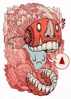 Crazy Mask by Iain Macarthur