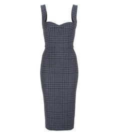 Victoria Beckham - Wool dress - Victoria Beckham's chic dress has been crafted in Great Britain from thick wool. The body-sculpting fit will flatter an hourglass figure, while the houndstooth detailing brings classic allure. Punctuate yours with a pair of leather pumps. seen @ www.mytheresa.com