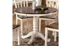 Dining Tables Outstanding Distressed Round Dining Table throughout sizing 1280 X 1202 Rustic White Round Kitchen Table - Kitchen tables in houses usually Round Dining Table Sets, Small Dining, Dining Room Table, Kitchen Tables, Dining Rooms, Kitchen Sinks, Dining Set, Kitchen Dining, Kitchen Remodel