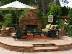 outdoor+living+ideas+pictures | 25 Lovely Outdoor Landscaping Ideas - SloDive