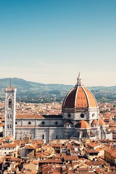 Beautiful & historic Florence. A great place to visit if you love history, art, Italian food & culture