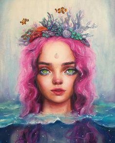 """Coral"", Happy D. Artist"