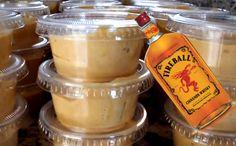 Indulge With Some Fireball Pumpkin Spice Pudding Shots This Fall Fireball Jello Shots, Best Jello Shots, Fireball Recipes, Jello Shot Recipes, Alcohol Drink Recipes, Pudding Recipes, Salad Recipes, Vanilla Pudding Shots, Jello Pudding Shots