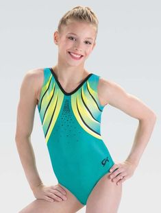Gymnastics Competition Leotards, Gymnastics Wear, Girls Gymnastics Leotards, Gymnastics Stuff, Gymnastics Quotes, Cheer Practice Outfits, Dance Photography Poses, Sporty Swimwear, Girls Bathing Suits