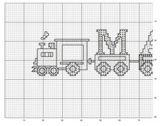 Cenefa tren patrón 1