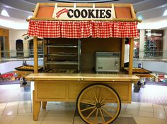 """Mall"" Cookie Kiosk by Shanna.Worsham, via Flickr"