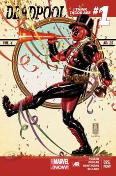 Deadpool #1 by Mark Brooks