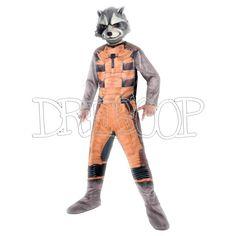 Disfraz Rocket Raccoon classic para niño - Dresoop.es