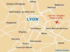 Image detail for -Lyon Maps and Orientation: Lyon, Rhone Alpes, France