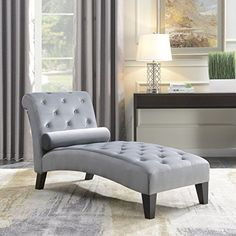 Belleze Living Room or Home Office Leisure Chair Rest Sofa Chaise Lounge Couch for Indoor Furniture, Gray #Belleze #Living #Room #Home #Office #Leisure #Chair #Rest #Sofa #Chaise #Lounge #Couch #Indoor #Furniture, #Gray
