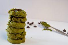 Plaid and Paleo: Paleo Matcha Green Tea Thumbprint Cookies