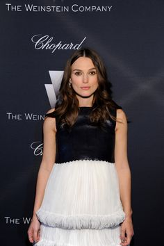 Keira Knightley Photos Photos - Actress Keira Knightley attends The Weinstein Company's Academy Awards Nominees Dinner in partnership with Chopard, DeLeon Tequila, FIJI Water and MAC Cosmetics on February 21, 2015 in Los Angeles, California. - FIJI Water At The Weinstein Company's Academy Awards Nominees Dinner In Partnership With Chopard, DeLeon Tequila, FIJI Water And MAC Cosmetics