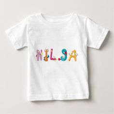 Nilsa Baby T-Shirt - baby birthday sweet gift idea special customize personalize