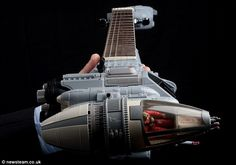 Tom Bingham's Amazing Star Wars Custom by Richard Darell  Guitars newsteam.co.uk