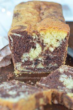 Marmercake recept met tips om je cake net zo lekker te bakken als bij de bakker! Nice marble cake with tips how to bake the cake very moist! Berry Smoothie Recipe, Easy Smoothie Recipes, Easy Cake Recipes, Sweet Recipes, Baking Recipes, Cookie Recipes, Snack Recipes, Marble Pound Cakes, Marble Cake Recipes