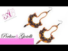 DIY Tutorial orecchini Moondance | 7° video in collaborazione con Perline & Gioielli - YouTube