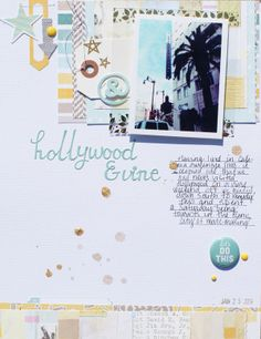 Hollywood & Vine by Michelle Wedertz at @Studio_Calico