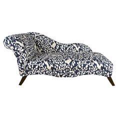 Bring a pop of style to your den or living room seating group with this eye-catching pine wood chaise, featuring a rolled back and menagerie-inspired motif. ...