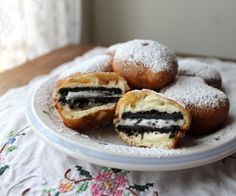 Deep-Fried Oreos by Food Lust People Love @Noshing on Nutrition on Nutrition With The Nolands