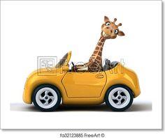 Free art print of Fun giraffe. Get up to 10 Gallery-Quality Art Prints for Free. Funny Giraffe, Cute Giraffe, Giraffe Humor, Giraffe Quotes, Giraffe Pictures, Animal Pictures, Cute Pictures, Giraffe Drawing, Giraffe Art