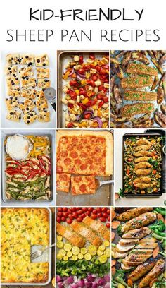 10 Delicious Sheet Pan Recipes Kids Will Love. Family friendly sheet pan dinners and recipes. 10 Delicious Sheet Pan Recipes Kids Will Love. Family friendly sheet pan dinners and recipes. Easy Family Dinners, Easy Healthy Dinners, Healthy Dinner Recipes, Healthy Kid Friendly Dinners, Easy Summer Dinners, Healthy Meals For Kids, Delicious Recipes, Family Friendly Recipes, Kids Dinner Ideas Healthy