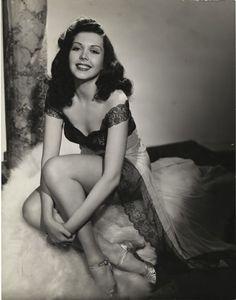 Ann Miller being her lovely self, 1940s.