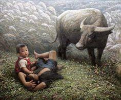 By chinese painter Li Zijian.