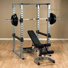 Body-Solid Power Rack Package with Weight Bench and Weight Set - Heavy Lifting! Includes Power Rack a Heavy Duty Weight Bench, 500 lb. Olympic Weight Plate Set and Barbell Body Solid Power Rack, Olympic Weight Set, Adjustable Weight Bench, Home Gym Exercises, Exercise Bike Reviews, Weight Lifting Workouts, Bench Set, Best Home Gym, Deporte