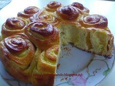 Batuffolando Ricette: Torta delle rose (con lievito madre) alla crema di limone