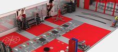 Functional Design Basement Gym, Garage Gym, Fitness Design, Gym Design, Kine Sport, Martial Arts Gym, Dream Home Gym, Gym Setup, Gym Interior