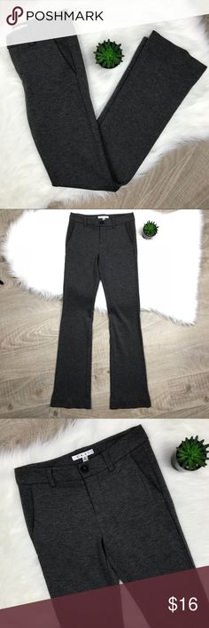 CAbi My Favorite Trouser Knit Stretch Pant CAbi Womens 2 Ponte Knit Pants My Favorite Trouser Gray Stretch Career #575R. Gently loved, in excellent condition. Size 2. Great stretch. CAbi Pants Trousers