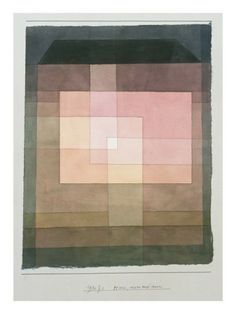 House, Outside and Inside, 1930 Giclée-Druck von Paul Klee