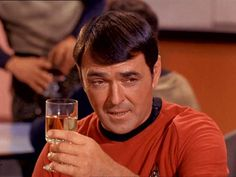 11. James Doohan was a war hero. He participated in the invasion of Normandy where he was shot six times and a bullet in his chest was stopped by a silver cigarette case. Whatta guy.