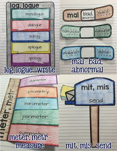 Interactive Vocabulary Notebooks for Grades 4-8 Click here to purchase! Each lesson includes a photo of the completed activity, complete step-by-step instructions, all notes for writing on/in…